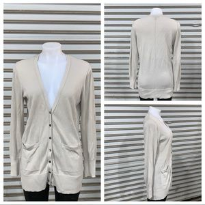 Banana Republic long sleeve button up cardigan
